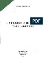 Catecismo Bíblico para adultos. Salas, Antonio