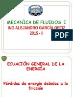 fluidos Ecuacion General de La Energia