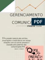 Gerenciamento Das Comunições Pmbok Guide