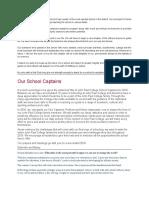 school captain's message