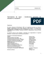 NCh0285-57 G. de Vapor-Generalidades....pdf