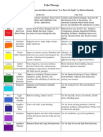 Color Therapy Handout