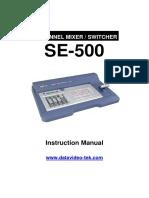 Datavideo SE 500