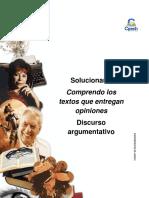 Solucionario Clase 11 Comprendo Los Textos Que Entregan Opiniones 2016