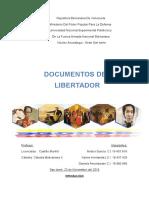 Documentos Del Libertador Trabajo