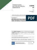 cispr22-amd1{ed5.0}en-2005