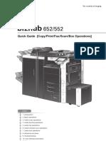 Bizhub552 652Print Fax Scan BoxOperationsQuickGuide