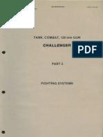 """Tank, Combat, 120 mm GUN, Challenger"" - Part 2 ""Fighting Systems"""