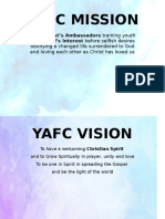 Yafc Mission Vision