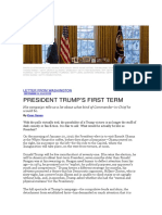 Evan Osnos - President Trump's First Term