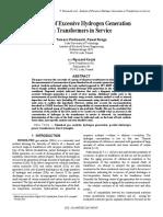 2015 - Tomasz Piotrowski - Analysisofexcessivehydrogengenerationintransformer[Retrieved 2016-11-21]