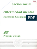 Cochrane Raymond La Creacic3b3n Social de La Enfermedad Mental