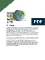 Clima-ecologia