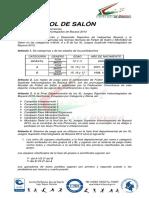 Reglamento Minifutbol de Salon y Futbol de Salon 2013