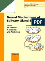 Neural Mechanisms of Salivary Gland Secretion