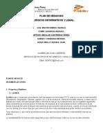Plan de Negocios  DE SERVICIOS INFORMÁTICOS Y LEGAL