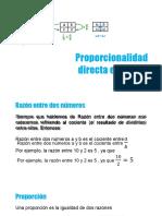 Proporcionalidad Directa e Inversa