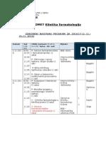 Klinička Farmakologija FARMACIJA 2016-2017
