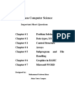 115295028-Notes-For-Computer-Science-10th-Class-BISE.doc