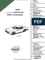 Volvo P1800 1800S B18 Parts Catalog