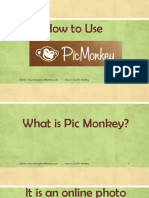 How to Use Pic Monkey