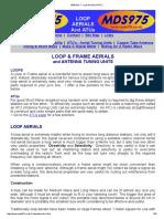 Aerials 1 - Loop Aerials & Atu's