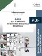 Guia-expediente de Evidencias de Enseñanza-tec-Informatica