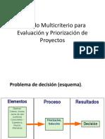 07. Clase Método Multicriterio Para Evaluación y Priorización de Proyectos