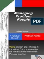 Managing  Problem People