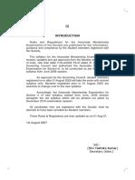 1443157431077 Rules & Regulations for Associate Membership Examination