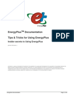 Tips and Tricks Using EnergyPlus
