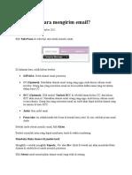 Bagaimana Cara Mengirim Email