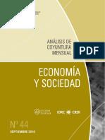 ECONOMIA Y SOCIEDAD - N 44 - SEPTIEMBRE 2016 - PARAGUAY - PORTALGUARANI