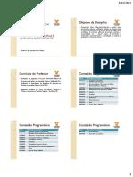 1 - Faculdade Pit+ígoras - Estruturas de Madeiras e Alv. Auto Portante - Introdu+º+úo