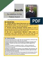 Liberal Democrat Federal Board Manifesto2016