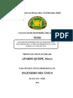 ANÁLISIS DE DISTRIBUCIÓN EN REDES DE GNV PARA REDUCIR LA CAÍDA DE PRESIÓN EN LA EDS COLPE S.A.C. HUANCAYO
