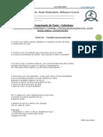 Interpretação de Texto - 5 Textos