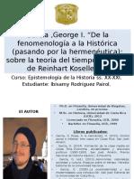 Tiempo Histórico de Koselleck