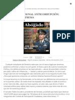 El Sistema Nacional Anticorrupción_ Simulación Extrema - El Mundo Del Abogado - Ángel M. Junquera Sepúlveda