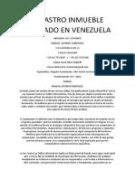 Catastro Inmueble Abogado en Venezuela