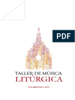 Música litúrgica. Nociones generales.