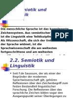 3. Semiotik Und Linguistik