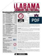 Alabama football game notes ahead of 2016 Iron Bowl
