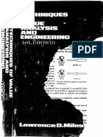 Techniques of Value Analysis and Engineering-LAWRENCE D. MILES