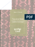 Voces de La Mente James V. Wertsch