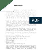 Resumen Investigacion de Mercado