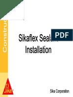 SealantTraining Installation