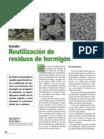 Reutilización de Residuos de Hormigón