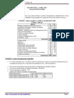 Contrôle Avril 2012 Bilan Financier Cas Madis-Electro