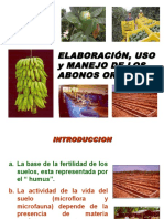Elaboracion de Abonos Organicos Para Exposicion